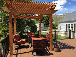 eco friendly diy deck. DIY Eco-friendly Redwood Pergolas Eco Friendly Diy Deck W