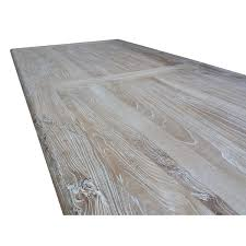grey wash dining table. Titan Reclaimed Dining Table 2.4m - Rustic White Washed | Interior Secrets Grey Wash