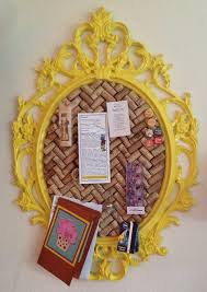 detailed instructions can be found here or for a more simpler cork board check out this link