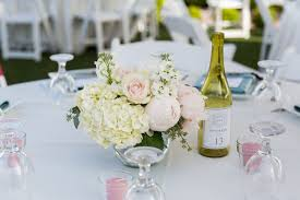 Wedding Reception Arrangements For Tables Coeur Dalene And Sandpoint Wedding Reception Flowers Flower And Stem