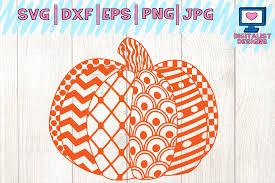 Pumpkin lattes, pumpkin pie, pumpkin bread, pumpkin patches, pumpkin graphics. Halloween Pumpkin Fall Zentangle Pattern Svg Graphic By Digitalistdesigns Creative Fabrica
