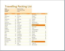 Vacation Packing List Family Holiday Template Meetwithlisa Info