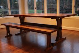 Trestle table with bench Chairs Reclaimed Oak Trestle Table And Bench Reclaimed Wood Tables Reclaimed Oak Trestle Table And Bench Reclaimed Wood