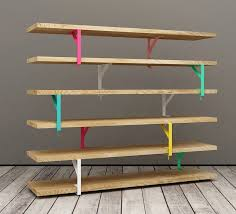 Shelves, Free Standing Bookshelves Metal Storage Shelving With Ash Coloured  Accent Cabinet Ladder Shelves For