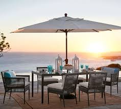 outdoor dining table with umbrella off 57