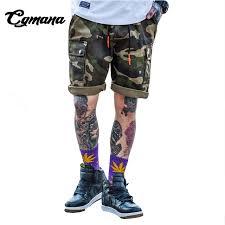 Us 45 78 Cgmana Short Men 2018 Summer Casual Shorts Tide Brand Camouflage Shorts Mens Summer Sweatpants Straight Newtooling Shorts In Casual Shorts
