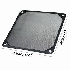5pcs <b>Gdstime</b> 5.5 inch Aluminum <b>14cm</b> Metal Fan Grill Filter <b>140mm</b> ...