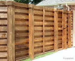 horizontal wood fence diy. Horizontal Wood Fence Diy Designs With Metal Posts Hi Sugarplum