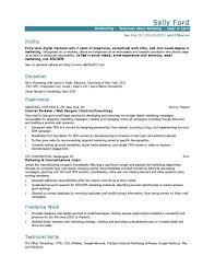 Marketing Resume Templates Health Symptoms And Cure Com
