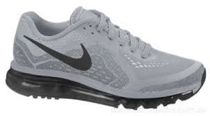nike shoes casual men 2014. 100% quality running shoes - mens nike air max 2014 wolf grey/black/ casual men i