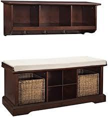 Image Locker Image Unavailable Amazoncom Amazoncom Crosley Furniture Brennan Entryway Storage Bench And