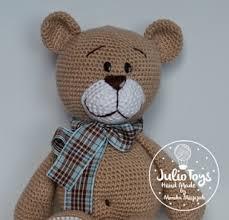 Crochet Bear Pattern Simple Teddy Bear Julio Toys Crochet Patterns Amigurumi
