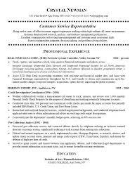 Modest Design Call Center Customer Service Representative Resume