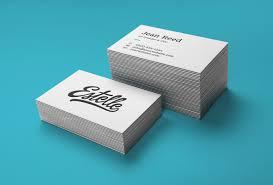 Letter Press Business Card Stack Letterpress Business Cards Mockup Graphicburger