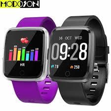 MODOSON Thông Minh Đồng Hồ Y7 Tập Thể Dục Tracker Smartwatch Bluetooth Vòng  Đeo Tay Ban Nhạc Cho Samsung Huawei Xiaomi Apple iphone 7 8 X XS MAX XR|Đồng  hồ thông minh