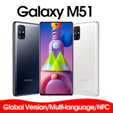 Thương Hiệu Samsung Galaxy M51 M515F DSN Toàn Cầu Phiên Bản Điện Thoại Di  Động 128GB ROM RAM 6GB 6.7