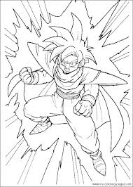 Coloring Pages Of Dragon Ball Z Pages Dragon Ball Z Coloring Book