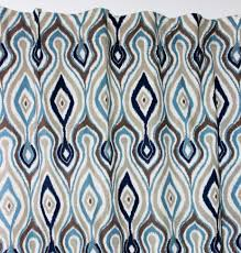 Geometric Patterned Curtains Geometric Pattern Curtains