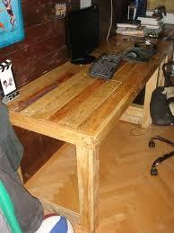 pallet furniture desk. diy pallet computer desk furniture