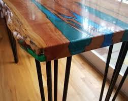 Live edge wood coffee table Slab Resin River Live Edge Wood Table Live Edge Coffee Table Example Of Custom Work Live Edge Sofa Table Handcrafted Handmade Rustic Etsy Live Edge Table Etsy
