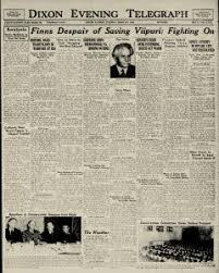 Dixon Evening Telegraph Archives, Mar 5, 1940, p. 1