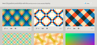 Css Pattern Adorable CSS Gradients With Backgroundblendmode