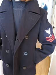 a peacoat on veterans day