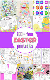 100+ (mostly) free Easter printables - Gift of Curiosity