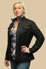 Barbour Utility Quilt Ladies Black Jacket - Smyths Country Sports &  Adamdwight.com