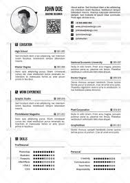 One Page Resume Example Enchanting Resume Templates Page Examples One Example Of Resumes Intended For