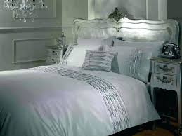 silver comforter queen bedding set black and white size