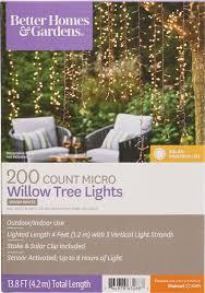 Better Homesgardens Willow Tree Lights Walmartcom
