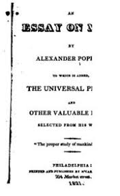 pope essay on man alexander pope streaming an essay on man to which are added the universal prayer and other valuable pieces selected