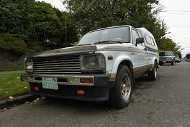 Seattle's Parked Cars: 1983 Toyota Truck