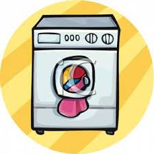 washing machine and dryer clip art. clothes in a washing machine - clipart and dryer clip art