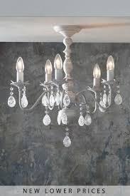 next bethany 5 light chandelier grey