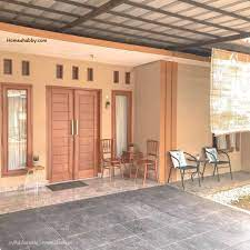 Model rumah sederhana tipe 21. 6 Gambar Teras Sederhana Di Kampung Homeshabby Com Design Home Plans Home Decorating And Interior Design