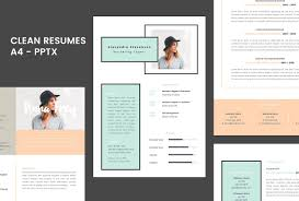 Powerpoint Resume Template Best Of Resume 224224 A24 Powerpoint Format Resume Templates Creative Market