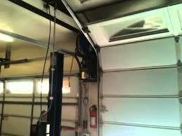 high lift garage doorhigh lift track garage door  YouTube