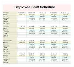 Schedule Maker Template Easy Employee Schedule Maker Free Calendar