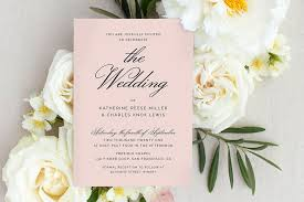 how to word wedding invitations with no