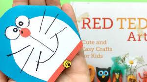 easy doraemon bookmark diy cute corner bookmark diys red ted art