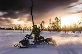your snowmobile over the summer
