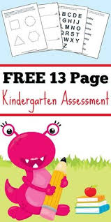 kindergarten essment it s free 13 pages to test kindergarten readiness