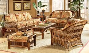 Furniture Living Room Wicker Classic Living Room Decorating