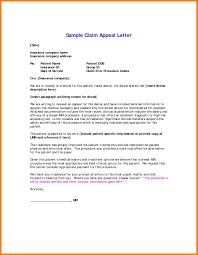 Sample Reimbursement Letters Medical Claim Appeal Letter Template Samples Letter Templates