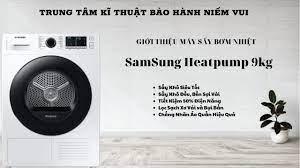Giới thiệu máy sấy bơm nhiệt Samsung Heatpump 9kg (DV90TA240AE) - YouTube