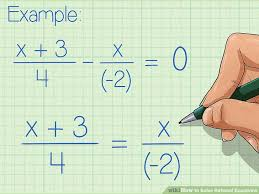 image titled solve rational equations step 1