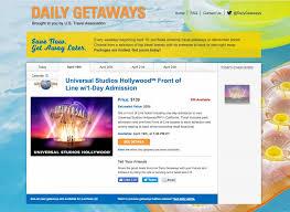 daily deals travel deals