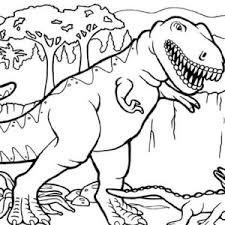 Small Picture T Rex is for Tyrannosaurus Coloring Page Color Luna